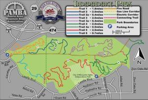 Mountain Bike Trails Map