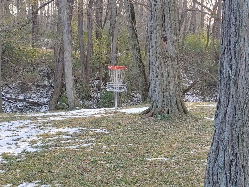 Frisbee Golf Hole